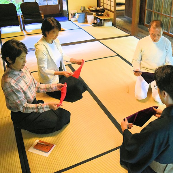 The Murin-an tea ceremony