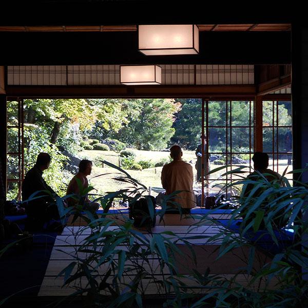 「関西文化の日」共同企画 無鄰菴で在釜を開催します!