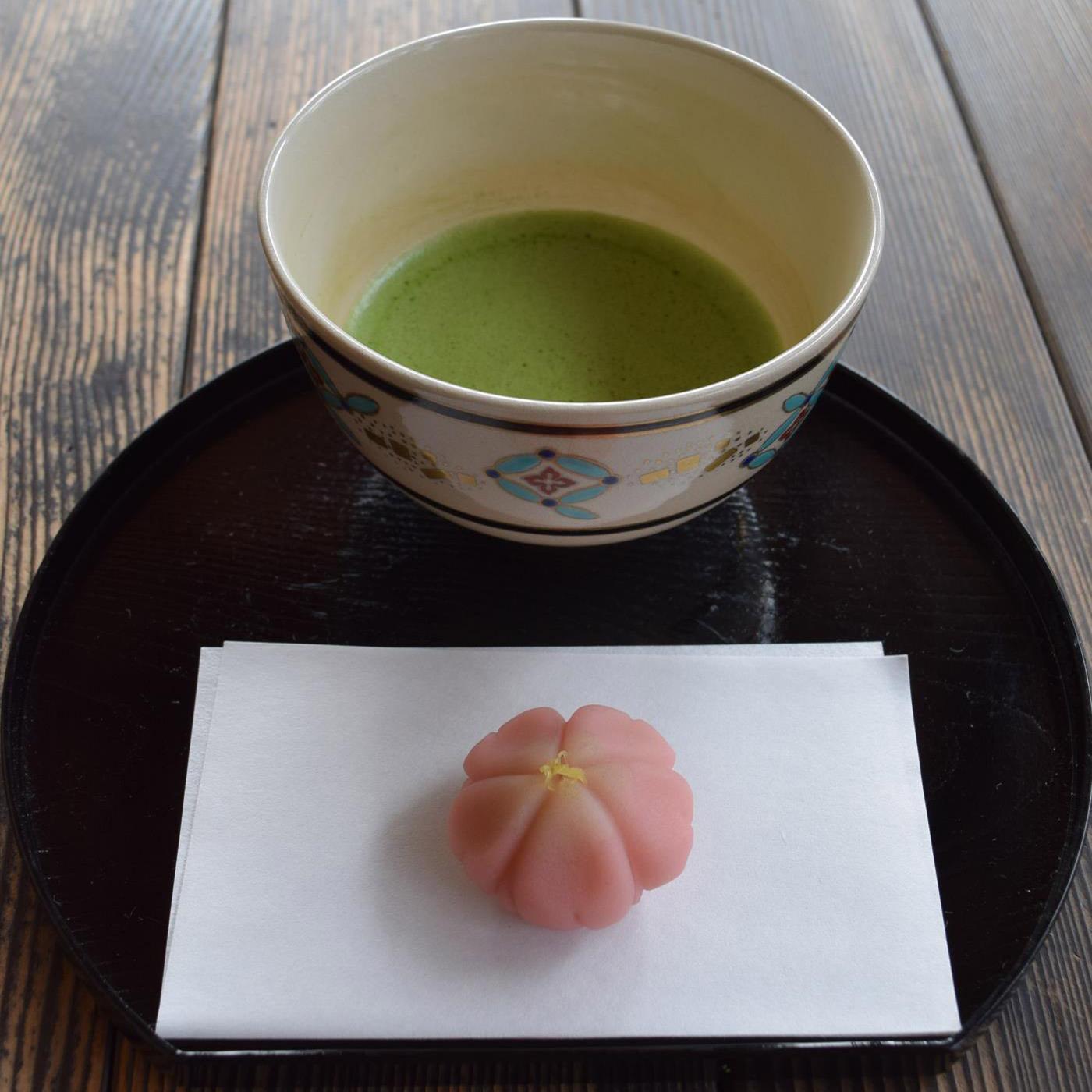 季節のしつらえと限定茶菓子 清明