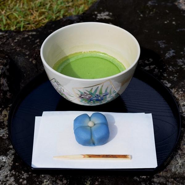 季節のしつらえと限定茶菓子席 夏至