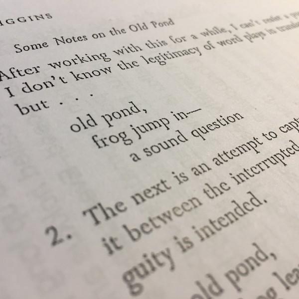 特別講座 セカイから見た日本を知る–文学作品の翻訳を通して–『俳句』