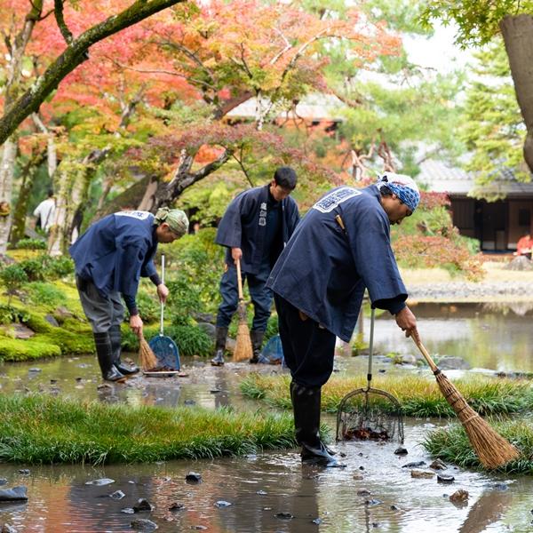 無鄰菴×京都造形芸術大学通信教育部 タイアップ講座「庭まるごと!」−庭師と学ぶ名勝庭園の運営とはぐくみ− 運営編