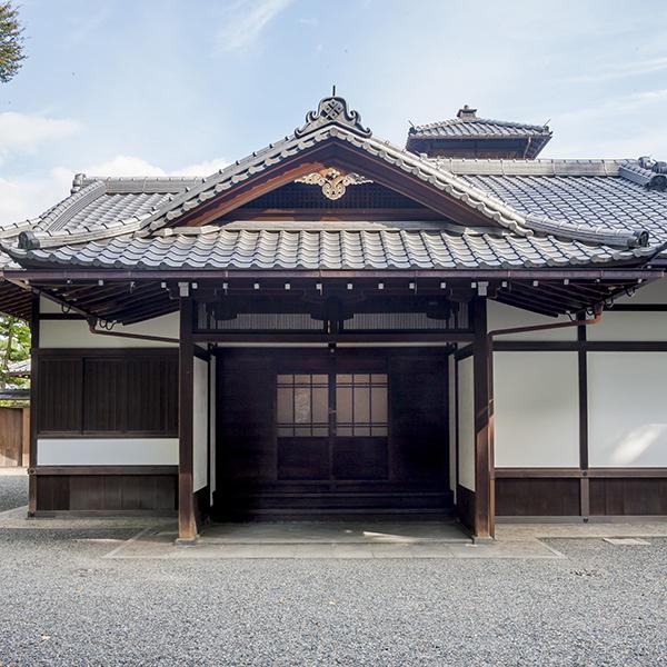 旧三井下鴨別邸 玄関棟
