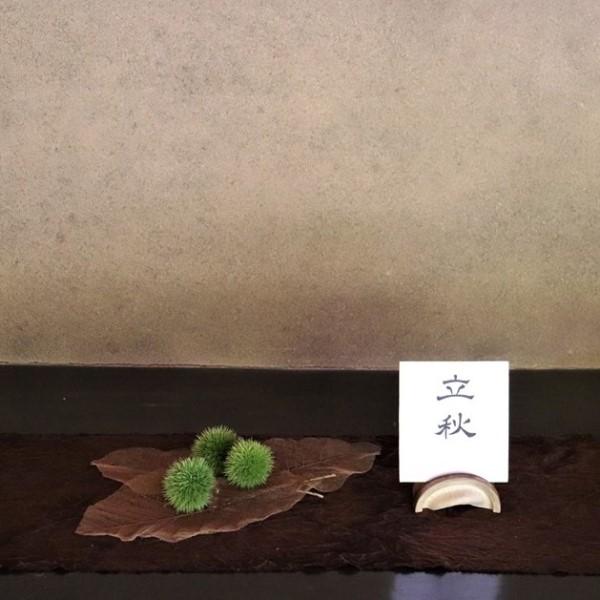 限定茶菓子 立秋