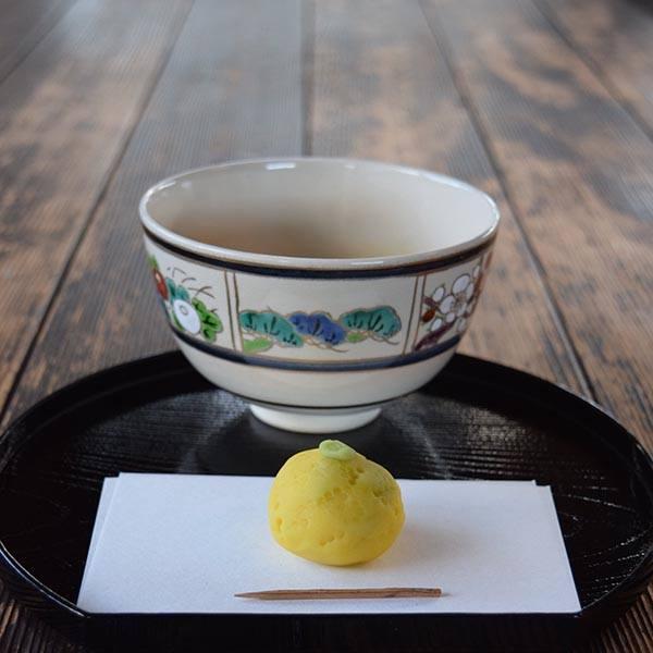 季節のしつらえと限定茶菓子席