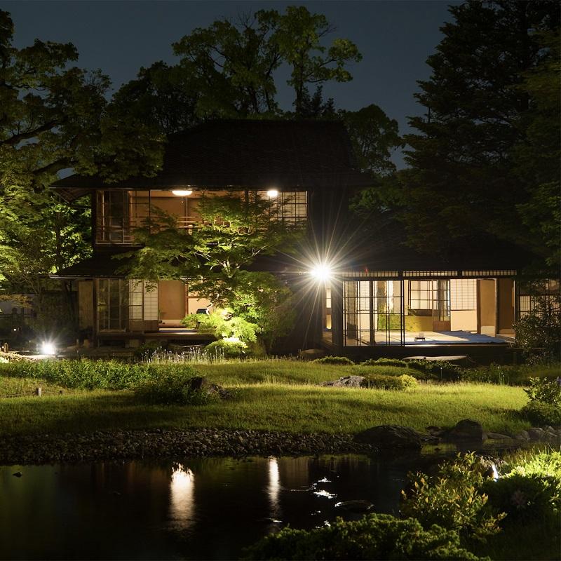 瓢亭×無鄰菴×能  京都の名勝庭園で、1組様限定の完全プライベート 「春の宵茶会」