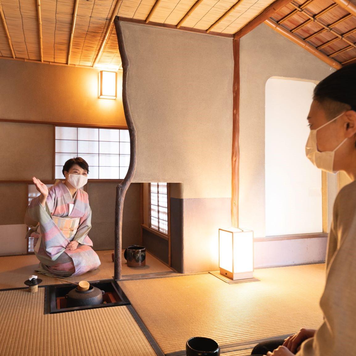 『茶室に入る』(2月12日)