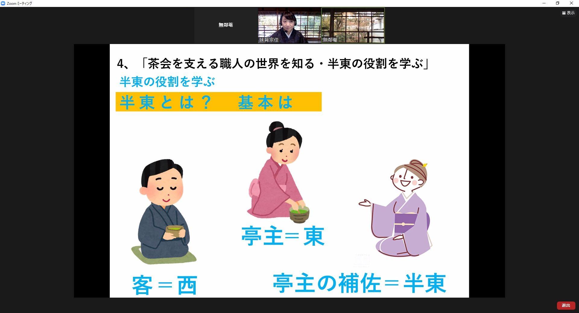 オンライン子ども茶会第9回
