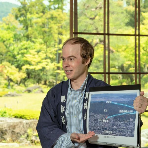 植彌加藤造園知財企画部マイケルさんの 「京都にこんな場所があったのか!」南禅寺界隈別荘群40分英語レクチャー